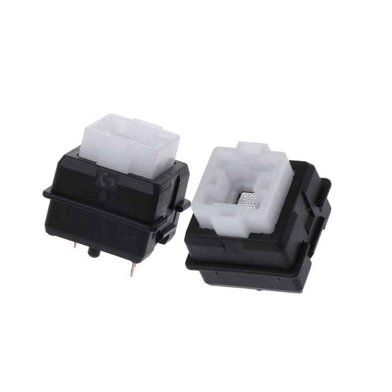 2Pcs Asli Romer-g Switch Sumbu untuk Logitech G910 G810 G413 K840 RGB Axis Keyboard Switch Panas
