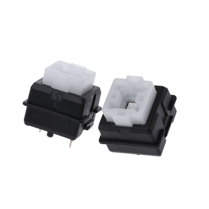 2Pcs Original Romer-G Switch Omron Axis for <font><b>Logitech</b></font> G910 <font><b>G810</b></font> G413 K840 RGB Axis Keyboard Switch Hot image