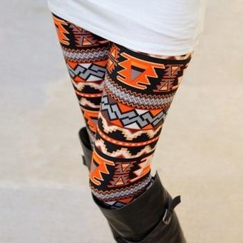 2020 New Women's Autumn Leggings Girl Winter Legging Bottoms Snowflake Christmas Deer Print Leggings Women Clothing Jeggings 5