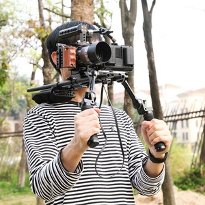 Image 5 - Smallrig 6500 カメラケージソニーA6500 カメラ木製ハンドルグリップフォームフィッティングA6500 ケージスタビライザー 2097