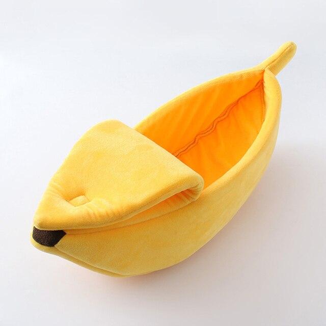 Panier Chat en forme de Banane