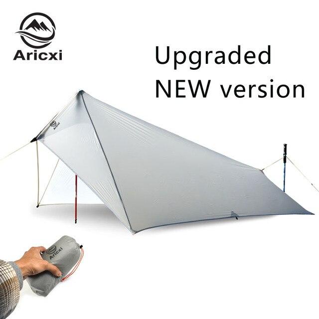 Bâche de tente de mouche de pluie Ultra légère, imperméable à leau 15d revêtement de Silicone