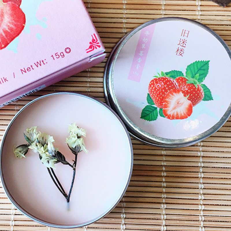 Men Women Solid Perfume Portable Balm Long-Skin Fragrance Body Lasting Skin Care