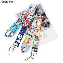 Flyingbee Забавный кактус брелок мультфильм милый телефон ремешок