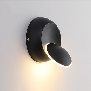 360 Degree Rotate Light Beam Adjustable Wall Lamp LED Wall Lights Aside Corridor Living Room Bedside Wall Light Fixture RF20