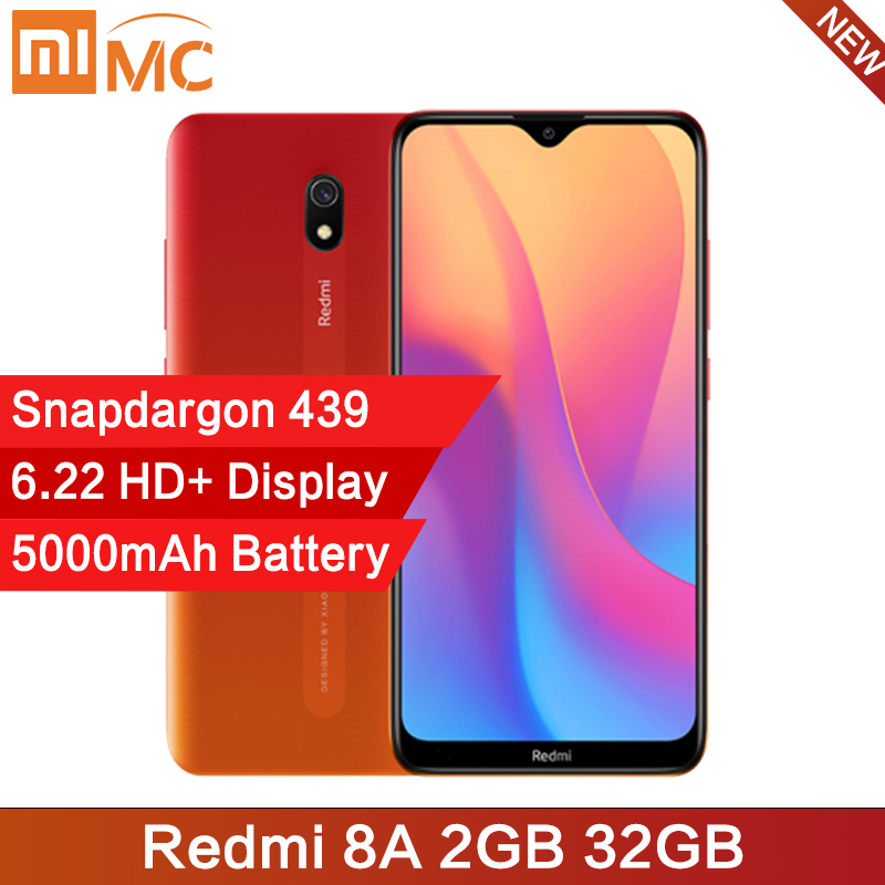 Global Version Xiaomi Redmi 8A 8 A 2GB 32GB 6.22