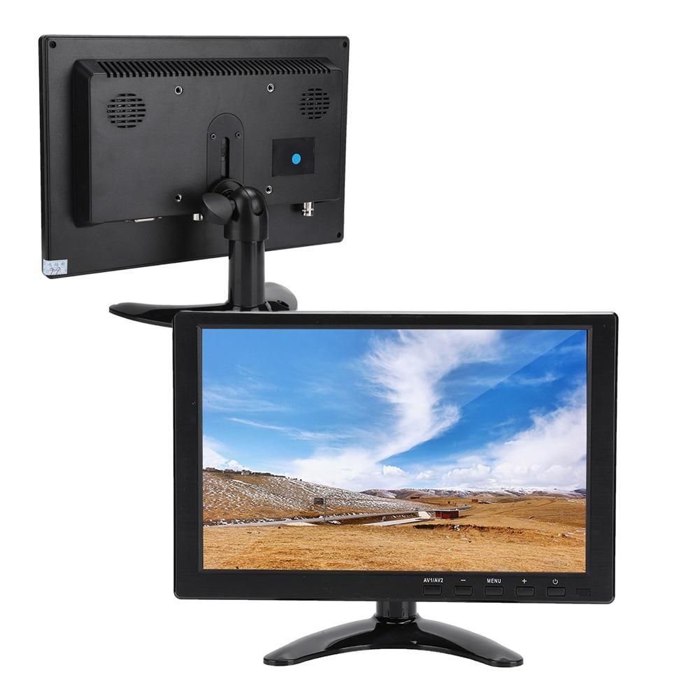 10,1 дюймовый портативный монитор 16:10 HD Широкоформатный дисплей с поддержкой HDMI / VGA / AV входа для Raspberry Pi для Xbox 360 для PS4/CCTV