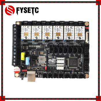 S6 V1.2 Board 32 Bit Control Board WIth 6pcs TMC S2225 TMC2225 For Uart Flying Wire MX Connector VS F6 V1.3 SKR V1.3 Mainboard