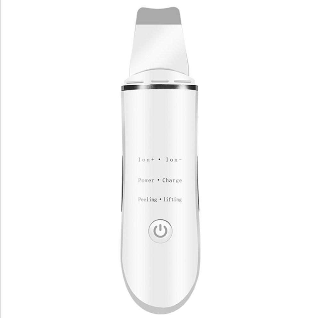 Home Beauty Iontophoresis Rf Beauty Instrument Pore Cleaner To Blackhead Ultrasonic Shovel Skin Machine Acne