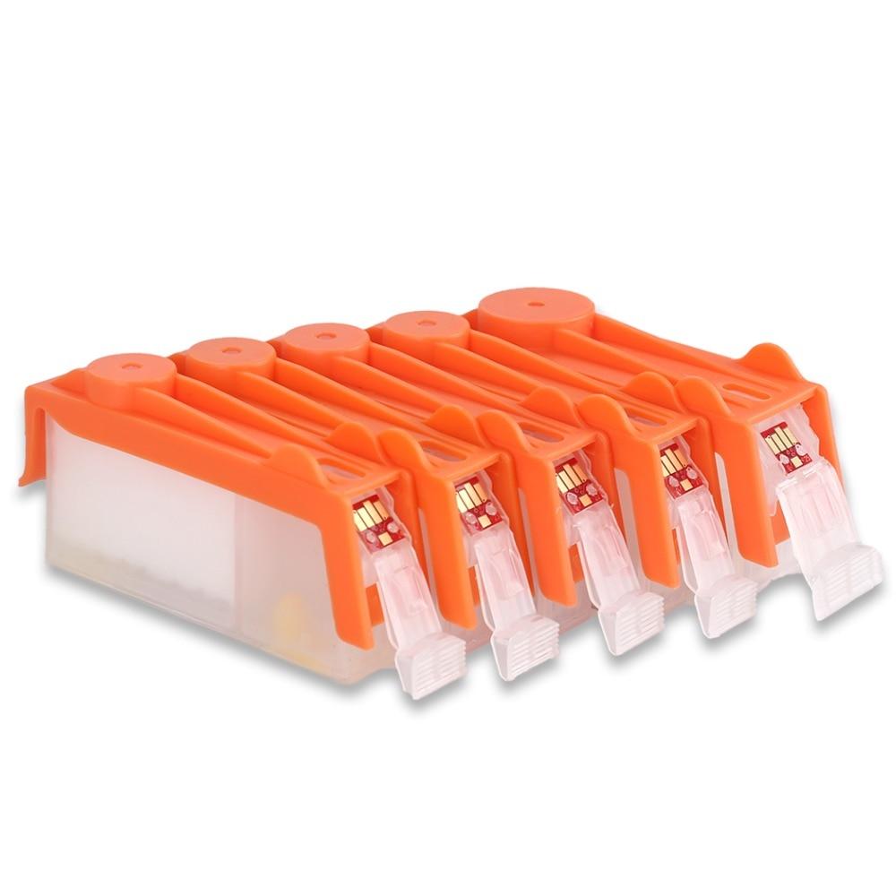 PGI-725 заправка чернила для канона iP 4870 ip4970 MG5170 MG5270 MG5370 MG6170 MG6270 MG8170 MG8270 iX6560 MX886 MX897 принтер картридж с чернилами