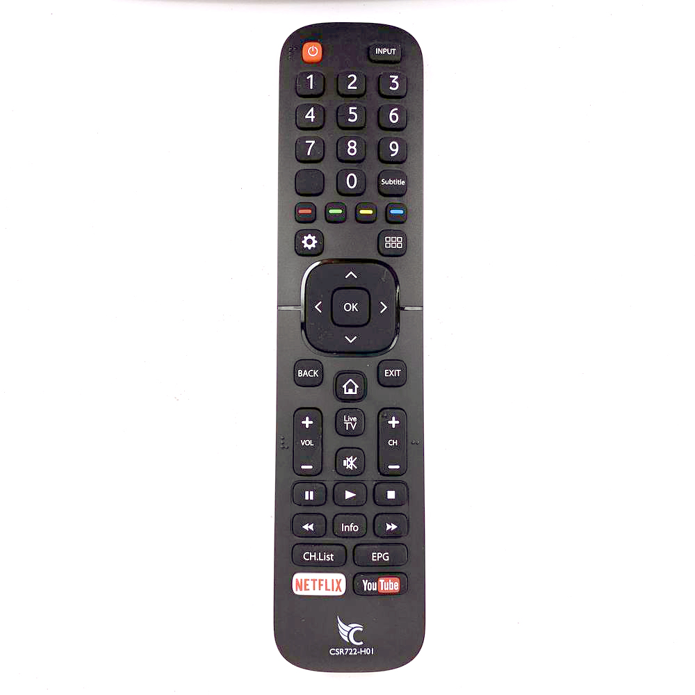 New Original CSR722-H0I For Condor HISENSE LCD Smart TV Remote Control With NETFLIX YouTube Apps CSR722H01 image