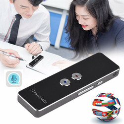 Multi-Language Portable Smart Voice T8 Translator Two-Way Real Time Translation 40+ For People