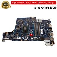 CAL60 LA F114P FOR Dell OEM Inspiron 15 5570 Laptop Motherboard i5 8250U SR3LB CN 0F7MGJ F7MGJ 0F7MGJ Mainboard