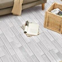 Autocollants de sol de cuisine, accessoires de décoration classique pour la maison, papier peint auto-adhésif PVC Grain de bois
