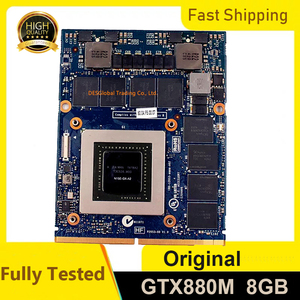 GTX880M GTX 880M GDDR5 8GB N15E-GX-A2 Graphics Video Card For DELL Alienware M17X R4 R5 M18X R2 R3 Fully Tested(China)