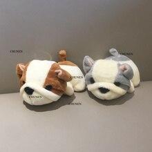2 цвета-новая собака плюшевая мягкая игрушка кукла-животное, 11 см фигурка собаки кукла брелок плюшевая игрушка