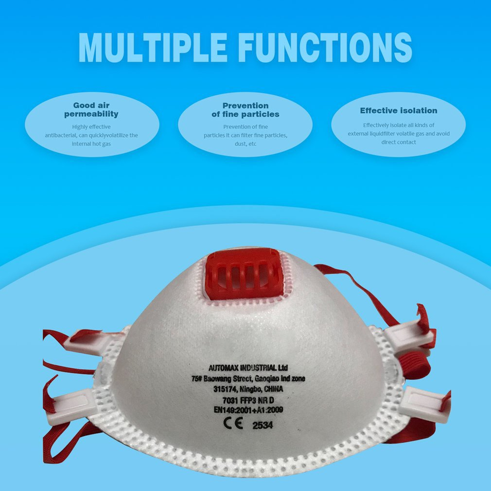 In Stock!!! 1pc/20pcs Mask Filter Anti-dust FFP3/FFP2/FFP1/N95(N95=FFP2) /Disposable Mask