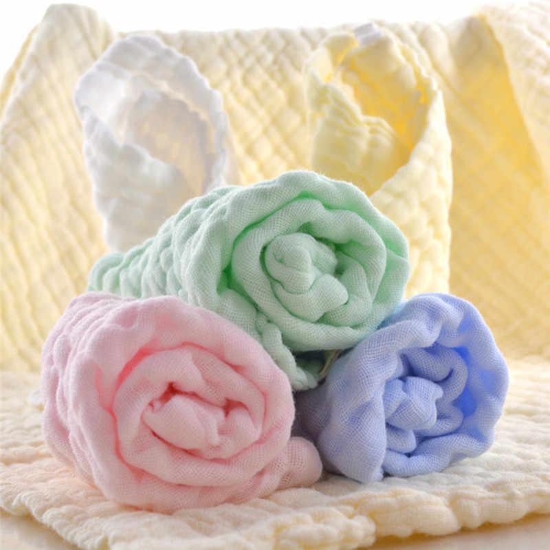 귀여운 아기 초극세 섬유 거즈 수건 아이 목욕 타월 수건 스퀘어 타올 어린이 주방 욕실 닦아 헝겊
