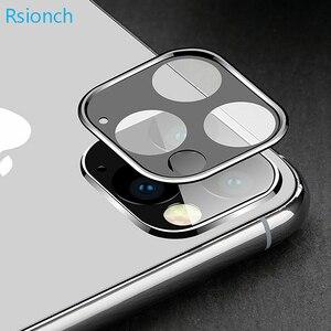Image 3 - Rsionch Cho Năm 2019 Mới Táo Iphon 3D Lưng Camera Ống Kính Bảo Vệ Màn Hình Trong Cho iPhone 11 Pro Max 11 Pro 11