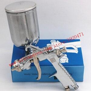 Image 2 - Ручной пистолет распылитель W101 134g HVLP, 0,8/1,0/1,3/1,5/1,8 мм, 400 мл, мебель, автоматическая покраска, автомобильный пистолет распылитель