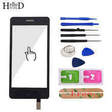 Touch Screen For Fly IQ4403 4403 Energie 3 Touch Screen Digitizer Repair Phone Front Touch Glass Sensor Repair Tools Adhesive