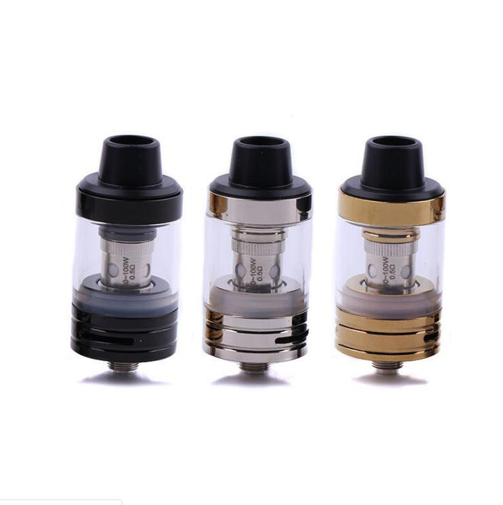 NEW Subohm A Tank Atomizer 2.5ML 510 Thread 0.5ohm Atomizer Tank With Spare 0.3ohm Coil Packing Fit For 510 Battery Mod