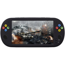 Powkiddy  X16 7 Inch Portable Retro Game Console Double joystick  Support TV output  TF card  handheld game consoles For PSP
