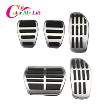 Car Gas Brake Pedal Cover Fit for Nissan X Trail Rogue T32 Qashqai Rogue Sport J11 Kicks for Renault Koleos Kadjar Samsung QM6