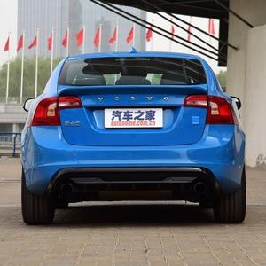 Image 2 - Cho Volvo S60 2012 2017 Chất Liệu ABS Xẻ Tà Cao Cấp Bất Kỳ Màu Sắc Nào Hoặc Lót Xe Cánh Sau Xe Ô Tô Cảnh Quan trang Trí Spoiler