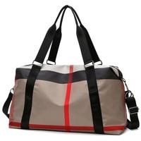 Yoga Gym Tasche Für Frauen Design 2021 Marke Reisetasche Nylon Flughafen Seesack Große Kapazität Kleidung Ferien Wochenende Handtasche sac