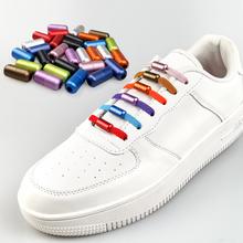 1Pair No tie Shoelaces Multicolour Elastic Shoe Laces For Kids and Adult Sneakers Shoelace Quick Lazy Laces 21 Color Shoestrings cheap SOBU Solid SLK23 Nylon
