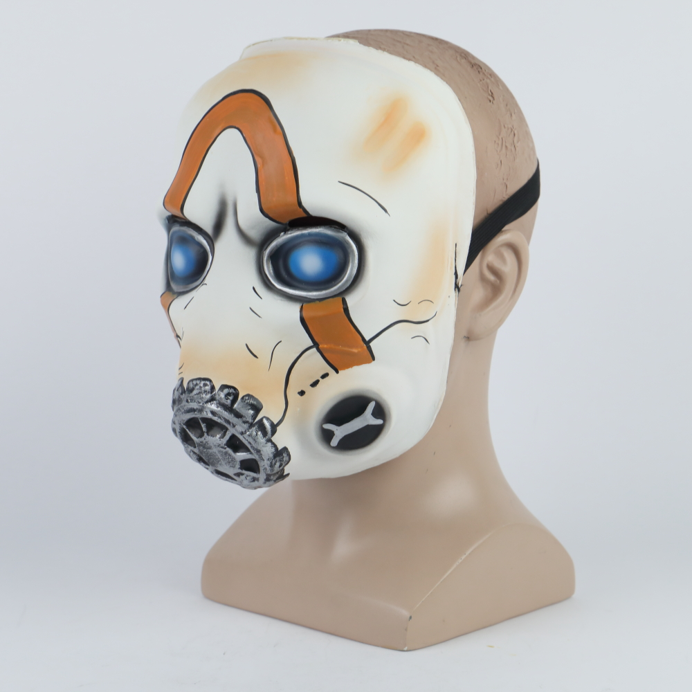 2019 New Game Psycho Mask Cosplay Psycho Latex Face Mask Halloween Cosplay Props LEDNo LED 2 Types Wholesale