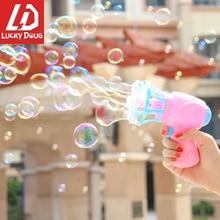 Toys Bubble-Gun Kids Children Fan for Summer Birthday-Party-Decorations