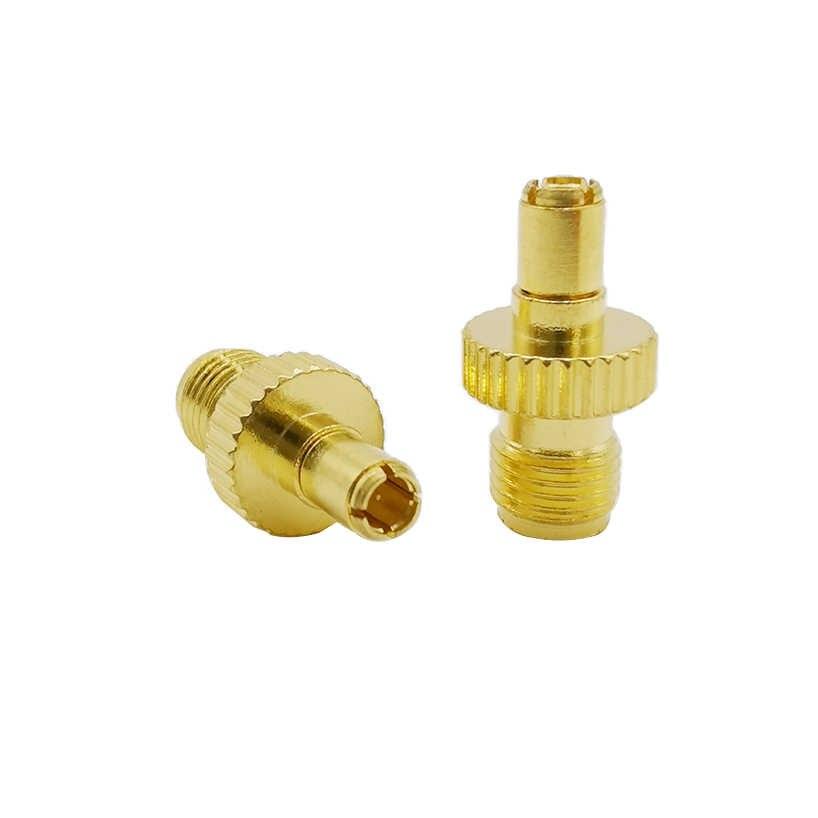 SMA hembra a TS9 macho Adaptador convertidor Coaxial RF TS9 enchufe a SMA Jack conector Coaxial RF para 3G WIFI CCTV antena módem USB