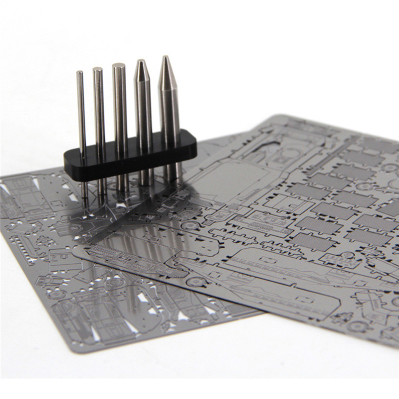 New Finger Rock 3D Metal Puzzles Assembly Tools The Models Stainless Steel Sticks Circular Column Multipurpose Tools