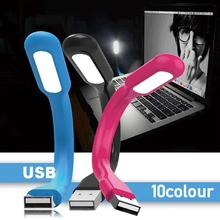 Book-Light Table-Lamp Led Super-Bright USB for Power Computer Laptop 1pc Foldable