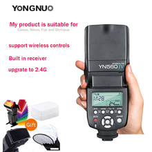 YONGNUO YN560IV YN560-IV YN560 IV Wireless Flash Speedlite YN560-TX II Trigger For Canon Nikon Olympus Pentax Fuji Camera
