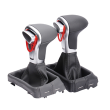 Original gear shift head for Audi A4 Q5 A6 A5 shift handball gear lever leather gear handle