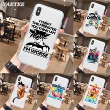 Dragon ball Z Phone Case for iPhone 11 Pro X XR XS MAX SE 2020 11 7 8 Plus 6 6s 5 5s 7+ 8+ TPU Soft Cover барто а я люблю свою лошадку 5 кнопок с песенками