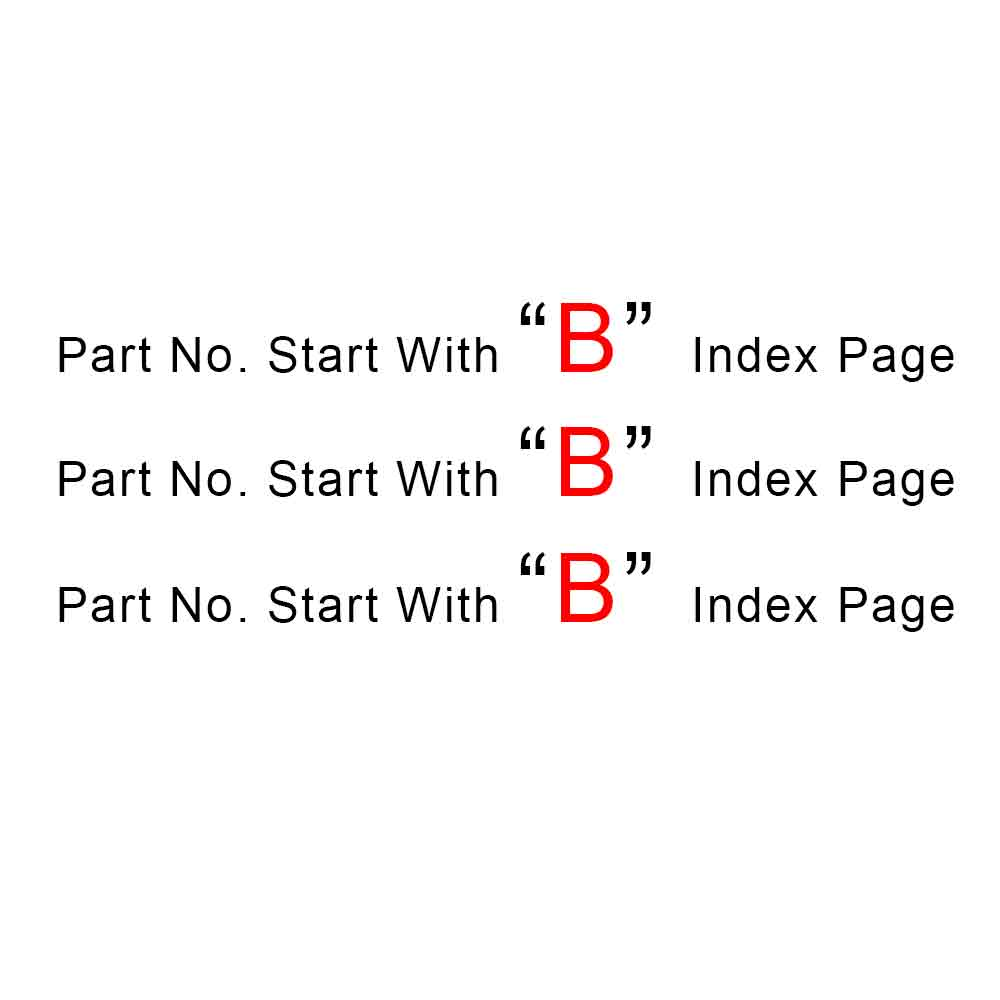 Start With B Index Page