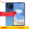 Original rom global oneplus 7 t 8 gb 256 gb smartphone snapdragon 855 mais octa núcleo 90 hz amoled tela 48mp triplo câmeras nfc