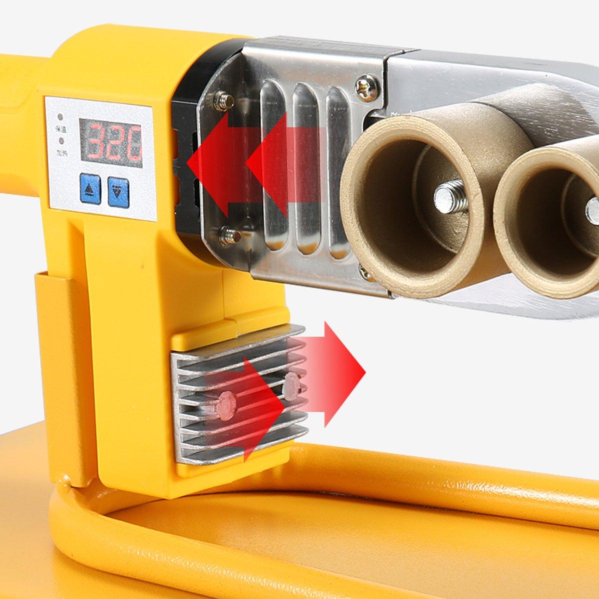 de soldadura da tubulação elétrica conjunto para