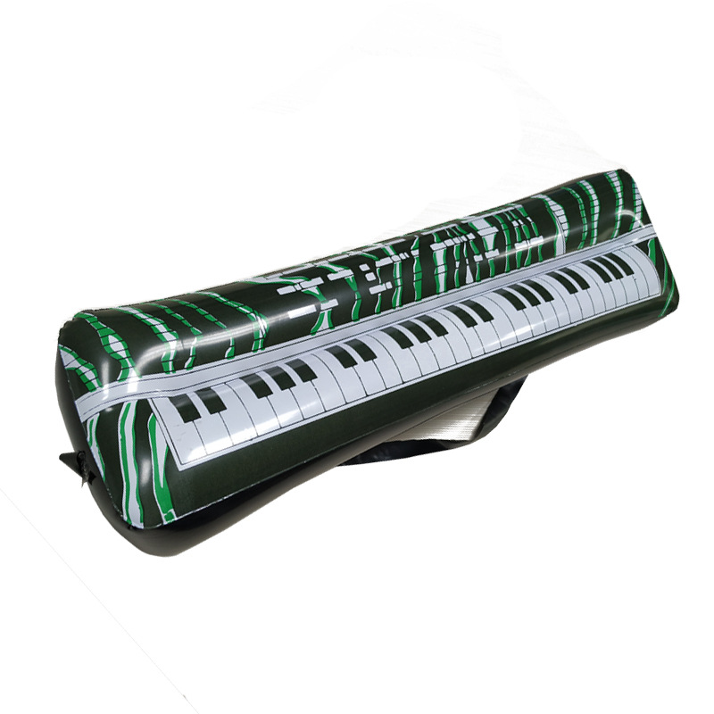 Currently Available Wholesale Environmentally Friendly PVC Inflatable Electronic Keyboard Model Instrument Factory Direct Party