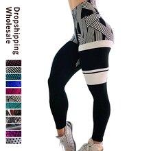 Style letnie moda Hot damskie seksowne legginsy cyfrowy 3D drukuj Fitness Sexy legginsy plus rozmiar biustonosze Push Up Drop Shipping
