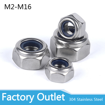 2/5/25pcs M2 M2.5 M3 M4 M5 M6 M8 M10 M12 M16 304 Stainless Steel Black Hex Nylon Insert Lock Nut Self-locking Nylock Nut Locknut 50pcs din985 m2 m2 5 m3 m4 m5 m6 m8 304 stainless steel nylon self locking hex nuts locknut slip lock nut