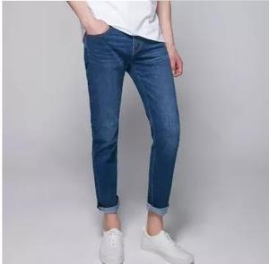 Image 4 - Xiaomi Cottonsmith Classic trend jeans Loose comfortable Men slim fit denim jeans Trousers Casual Straight Elasticity pants