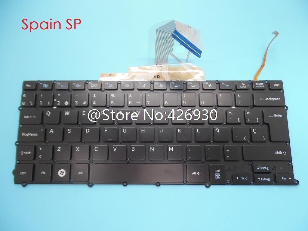Laptop Keyboard For Samsung NP900X3B NP900X3C NP900X3D NP900X3E 900X3B 900X3C 900X3D 900X3E Spain SP BA59-03482D Backlit New