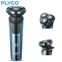 Men Shaver LED Smart Waterproof Shaving Machine Flyco FS901