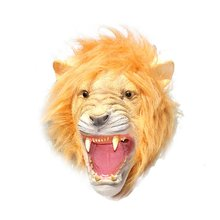 Costume Props-Decoration Animal-Head Party Halloween Latex-Mask Headgear Festival Club