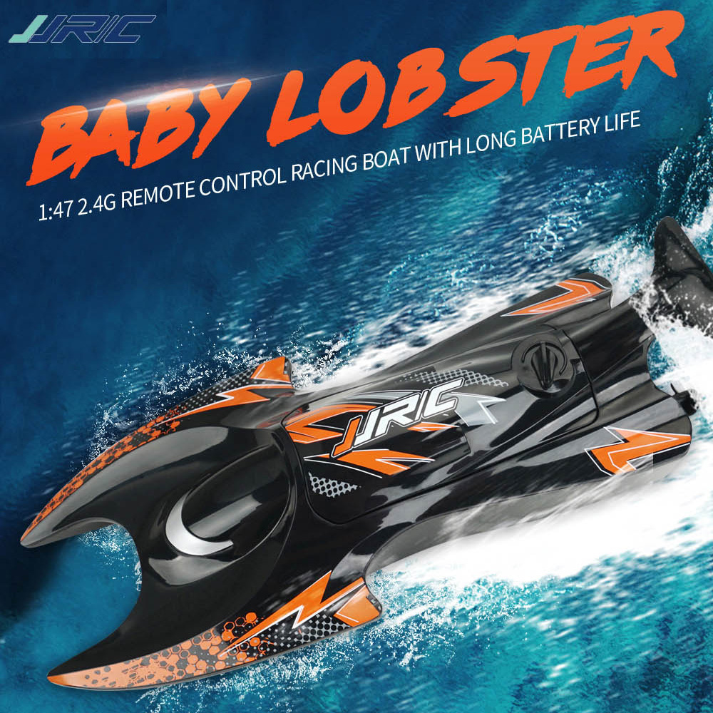 New Arrival JJRC S6 1/47 2.4G Simulate Lobster Electric RC Boat Remote Control Vehicle Model Outdoor Toys Gifts for Kids